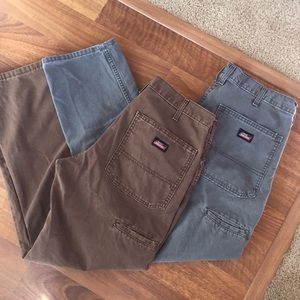 (2) Dickies cargo canvas paints size 32